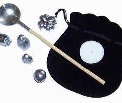 Set pentru divinatie, pe baza de plumb - model deosebit!!!