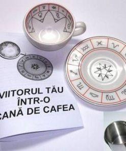Viitorul tau intr-o cana de cafea Set de ghicit in cafea