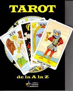 set TAROT DE LA A LA Z carte explicativa+78 carti