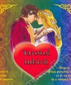 Tarotul iubirii - set: brosura in lb. romana + 22 carti