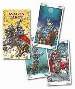 Avalon Tarot - 78 carti - lb. romana