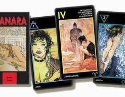 The Erotic Tarot of Manara - 78 carti