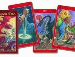 Dragon Tarot - Tarotul dragonilor - 78 carti - lb. romana