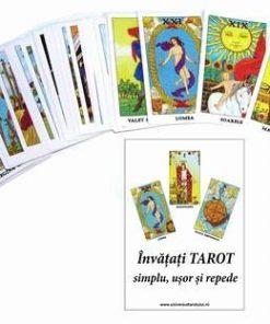 Tarot Rider Waite in limba romana - 78 carti si carte