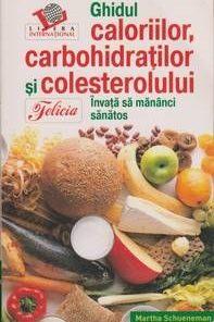 Ghidul caloriilor, carbohidratilor si colesterolului