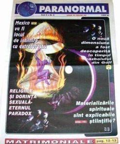 Set de 9 reviste - Revista Fenomenelor Paranormale
