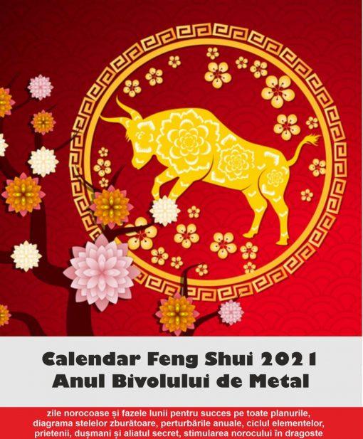 Calendar Feng Shui 2021 in limba romana