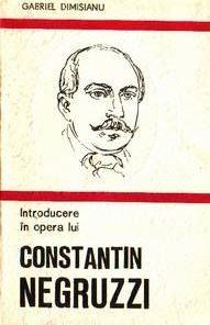 Introducere in opera lui C.Negruzzi