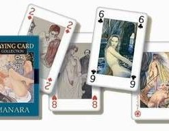 Carti de joc/Tarot - Arta lui Manara - 54 carti