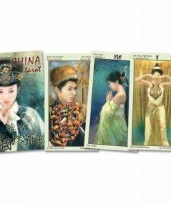 China Tarot - 78 carti - lb. romana