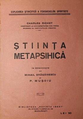 Stiinta metapsihica