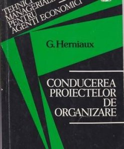 Conducerea proiectelor de organizare