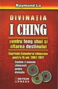 cartea Divinatia I Ching+ 3  monede feng shui