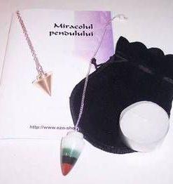 Pendul din cristale mixte -  model deosebit!
