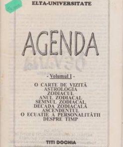 Agenda - Volumul I
