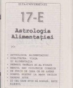 Astrologia alimentatiei - 17-E
