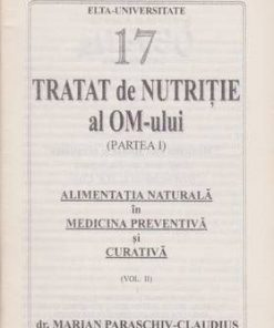 Tratat de nutritie al OM-ului - Partea I - Vol. 3