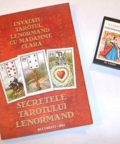 KITcartea Secretele Tarotului Lenormand +36 carti lb romana