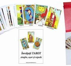 Tarot Rider Waite in limba romana - 78 carti - set