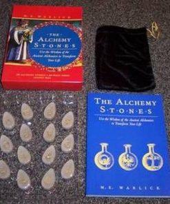 Pietrele alchimieicarte plus rune din cristal transparent
