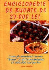 Enciclopedie de bucate de 27.000 lei
